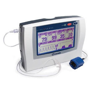 LifeSense™ Tabletop Capnography and Pulse Oximetry Monitor with Standard Accesso