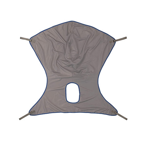 nvacare Premier Comfort Sling with Commode Opening for Patient Lifts, Polyester