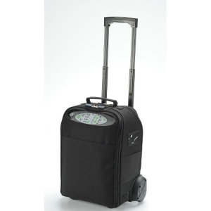 iGo Portable Oxygen Concentrator with Deluxe Carry Case and Wheeled Cart