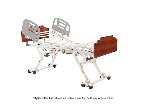 Invacare CS9 Bed, Amherst Style Bed Ends with Cafelle, IHCS9AMSCA90TSPD-ACP