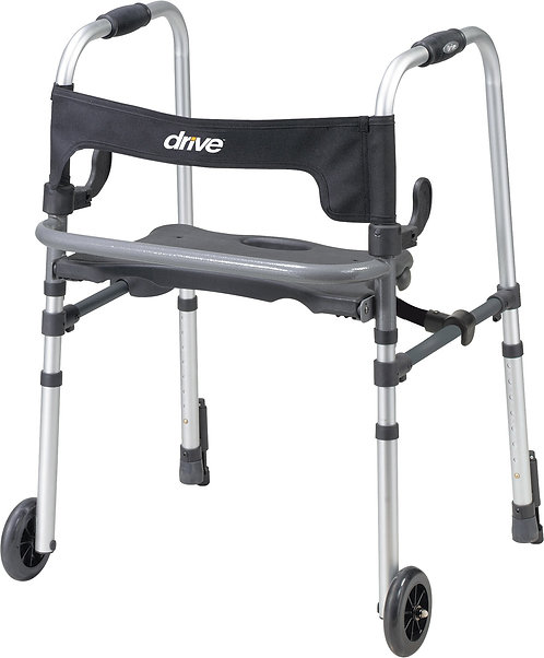 """CLEVER-LITE LS WALKER, ADULT WITH 5"""" WHEELS"""