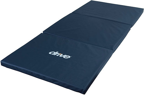 Drive Medical Tri-Fold Bedside Mat, Blue