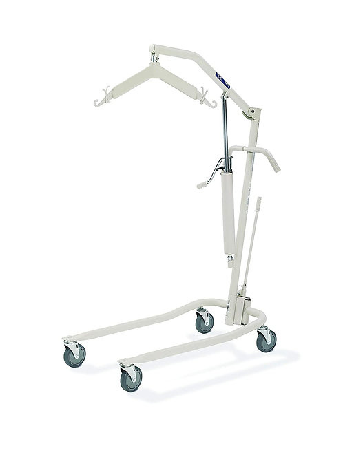 Invacare Lightweight Hydraulic Patient Lift, White, 450 lb. Weight Capacity, 980