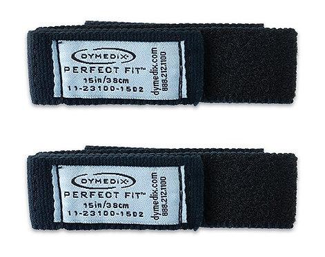 "Perfect Fit Pediatric Reusable Effort Belt Strap, Infant, 15"" - 2/Pk"