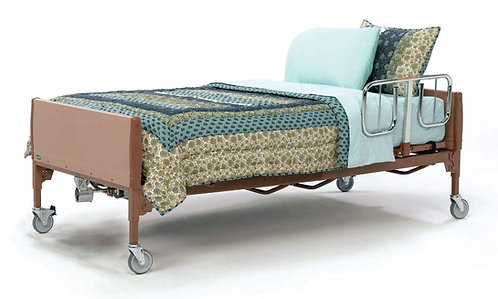 Invacare Bariatric Heavy-Duty Full Electric Bed - BAR600IVC with Bariatric Foam