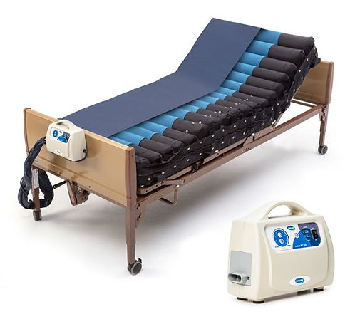 Invacare microAIR MA500 Alternating Pressure Low Air Loss Mattress with Pump