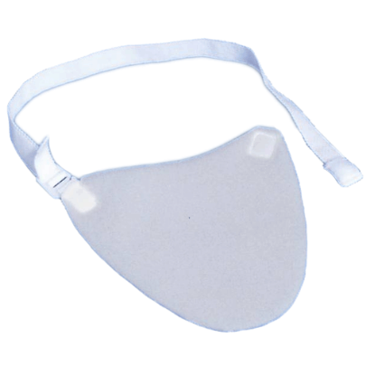 Trach StomaShield Cover With Adjustable Neck Band