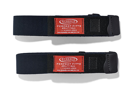 """Perfect Fit II Adult Effort Belt Strap, Large, 45"""", 2 Pack"""
