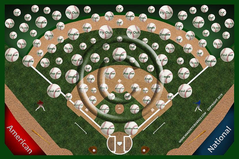 Baseball Darts 24x38