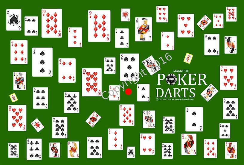 Poker Darts 24 x 38