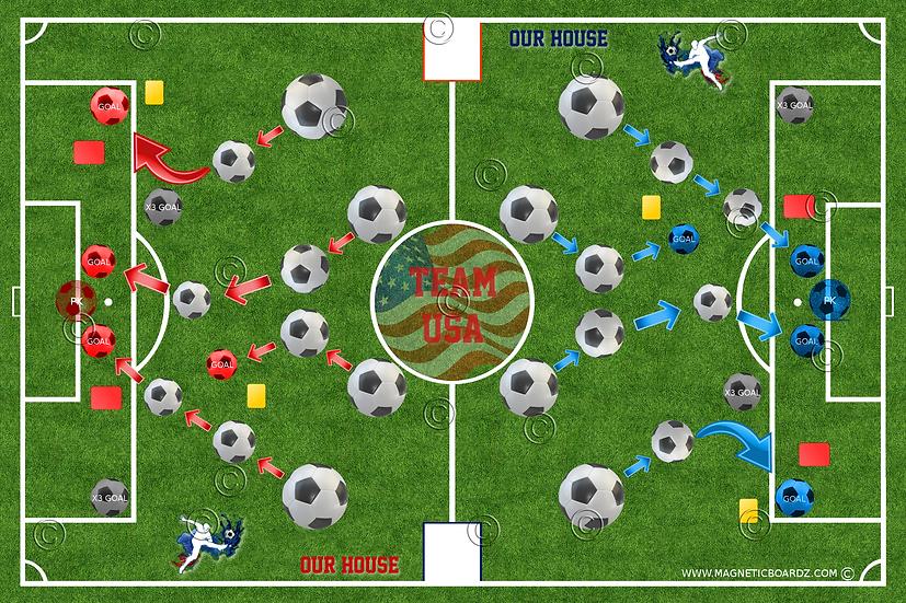 Mini Soccer Darts 15 1/2 x 23 3/4