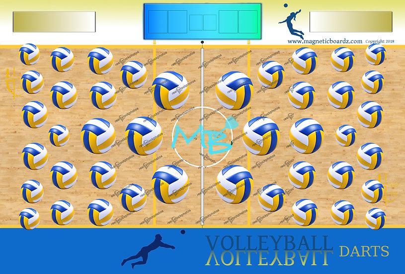 Court Volleyball Darts 24x38