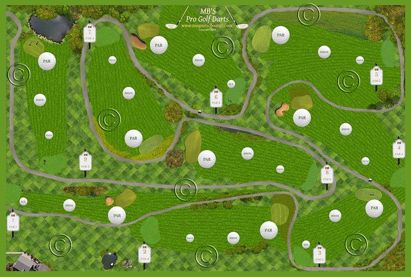 Mini Golf Darts 15 1/2 x 23 3/4