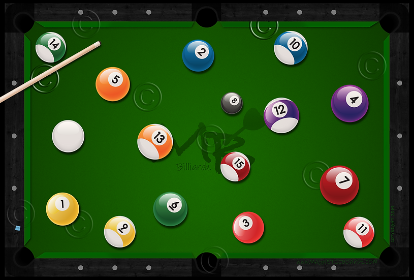 Billiardz 24x38