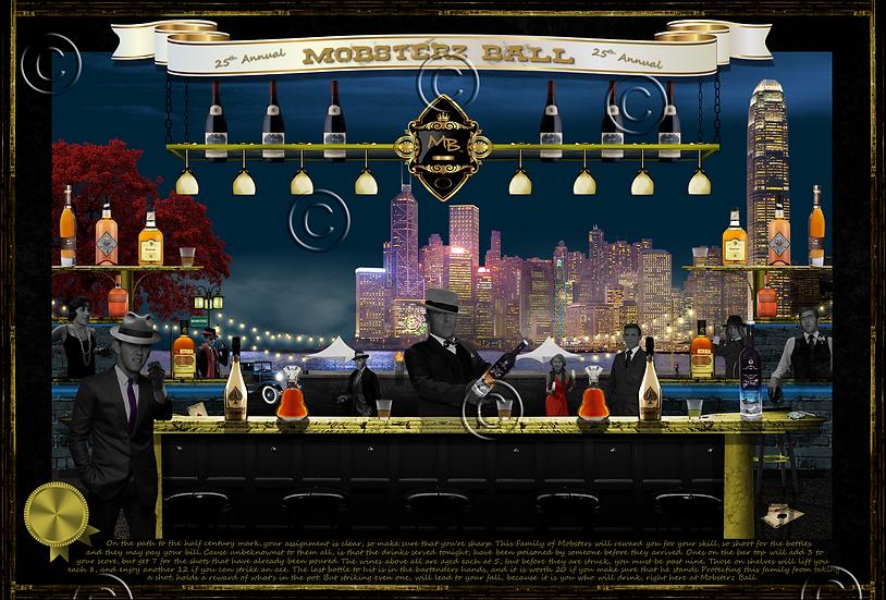 Mobsterz Ball 24x38