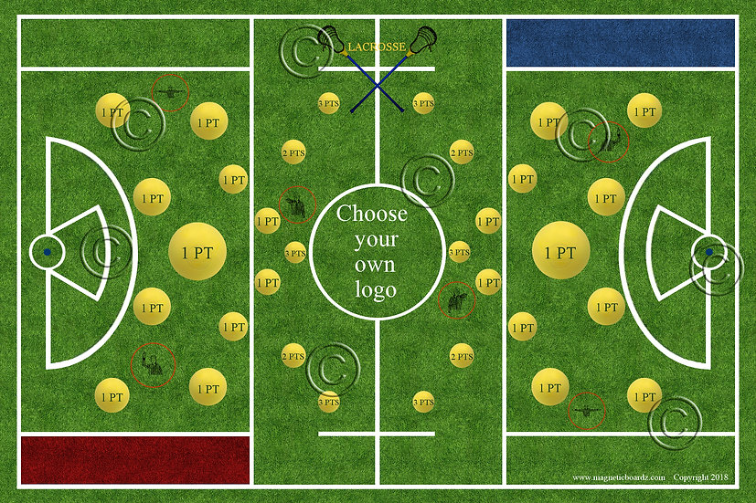 Mini Lacrosse Darts 15 1/2 x 23 3/4