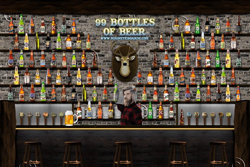 99 Bottles 24x38