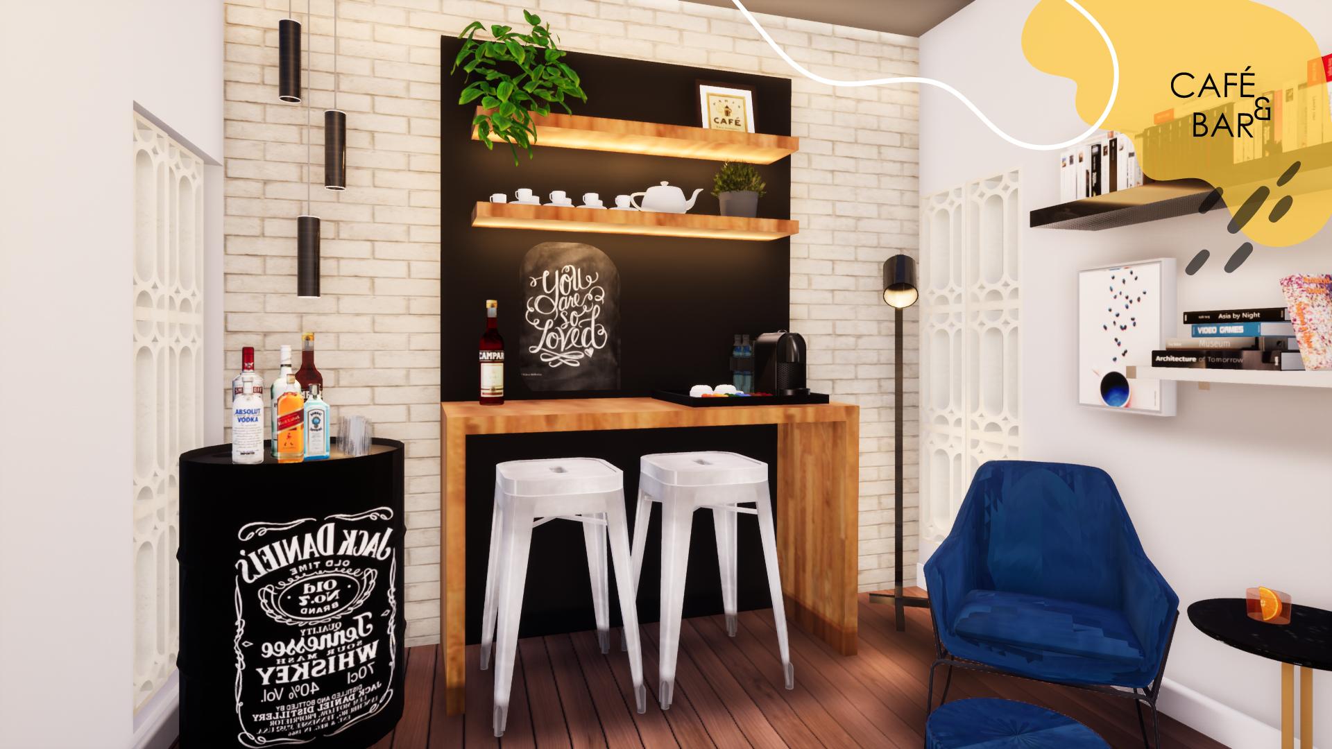 CAFE E BAR-100