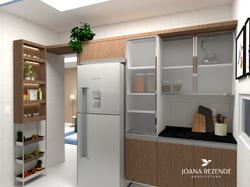 Cozinha projetada