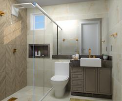 Banheiro projetado