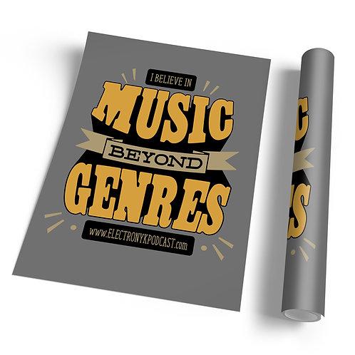 MUSIC BEYOND GENRES POSTER
