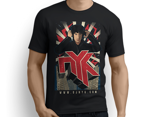 DJ NYK Official T-Shirt (2016)