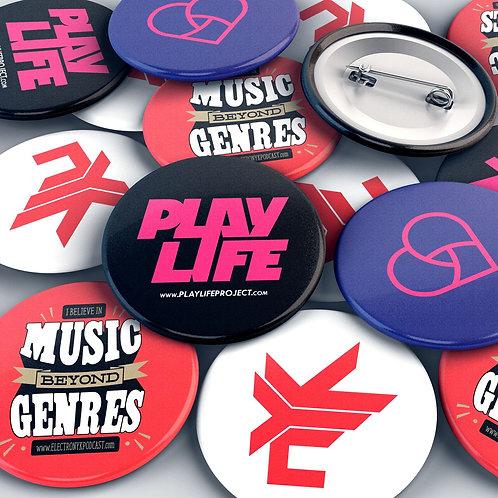 DJ NYK Official Badge Set