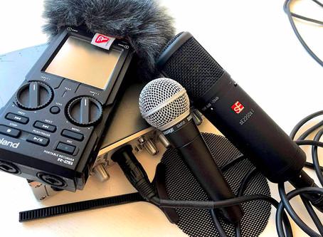 Få styr på dit udstyr: En indkøbsguide til podcastbegyndere