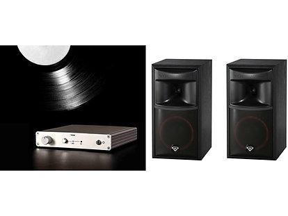 York Phono Preamp + Pair of XLS-6 Bookshelf Speakers