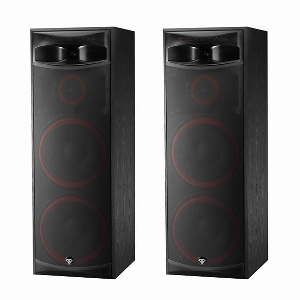 "CERWIN-VEGA! XLS-215 Dual 15"" 3 Way Floorstanding Tower Speaker (Pair)"