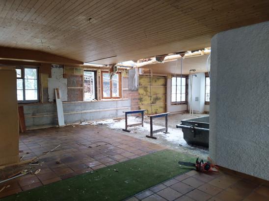 Das Haus 36 wurde kopmlett ausgeräumt