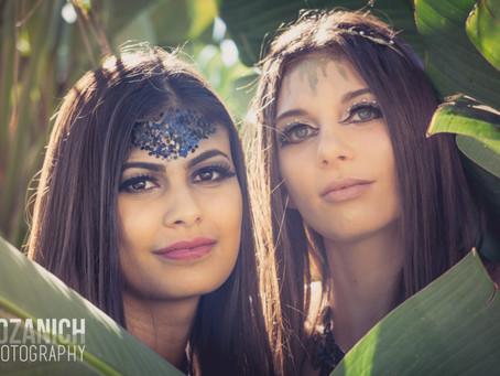 Allie & Monica | Jungle Sisters