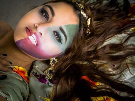 Half-Faced Princess with Dishika Singh | Model