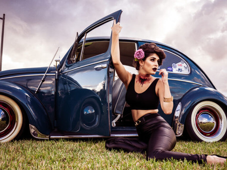 Halloween Pin Up Girl | SPECTACLE
