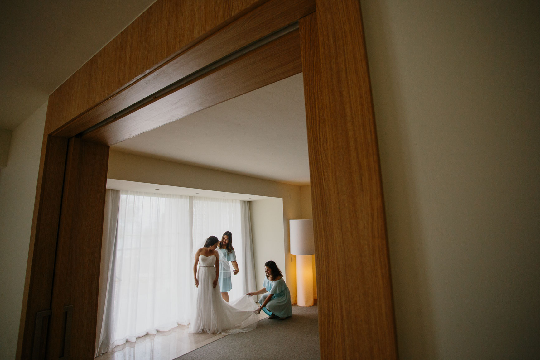 Finest Resort Cancun Wedding Photographer