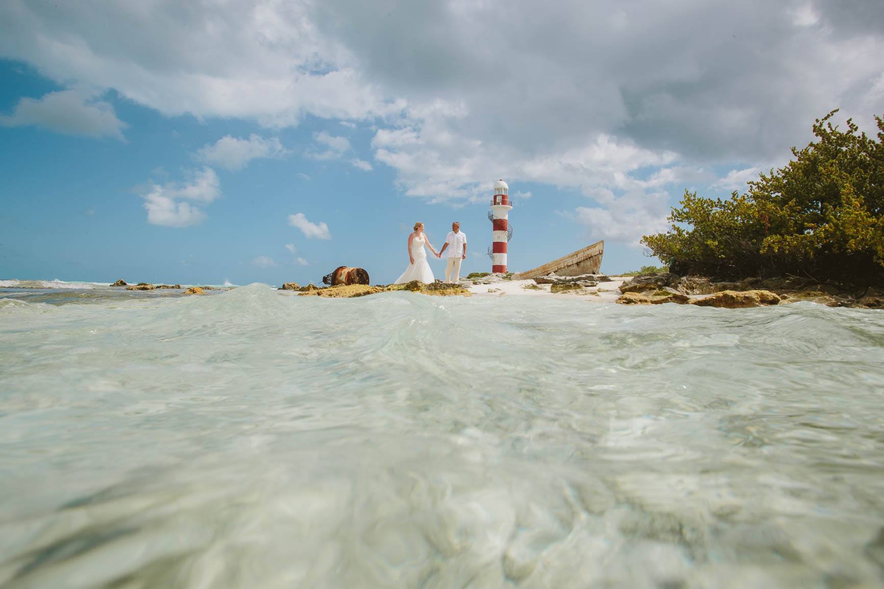 Hyatt Ziva Cancun Trash The Dress