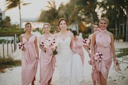 Cancun Bridesmaids Destination Wedding Photographer