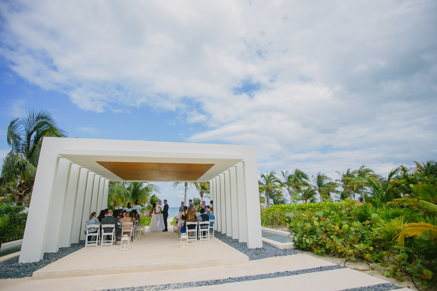 Finest Playa Mujeres Wedding Gazebo