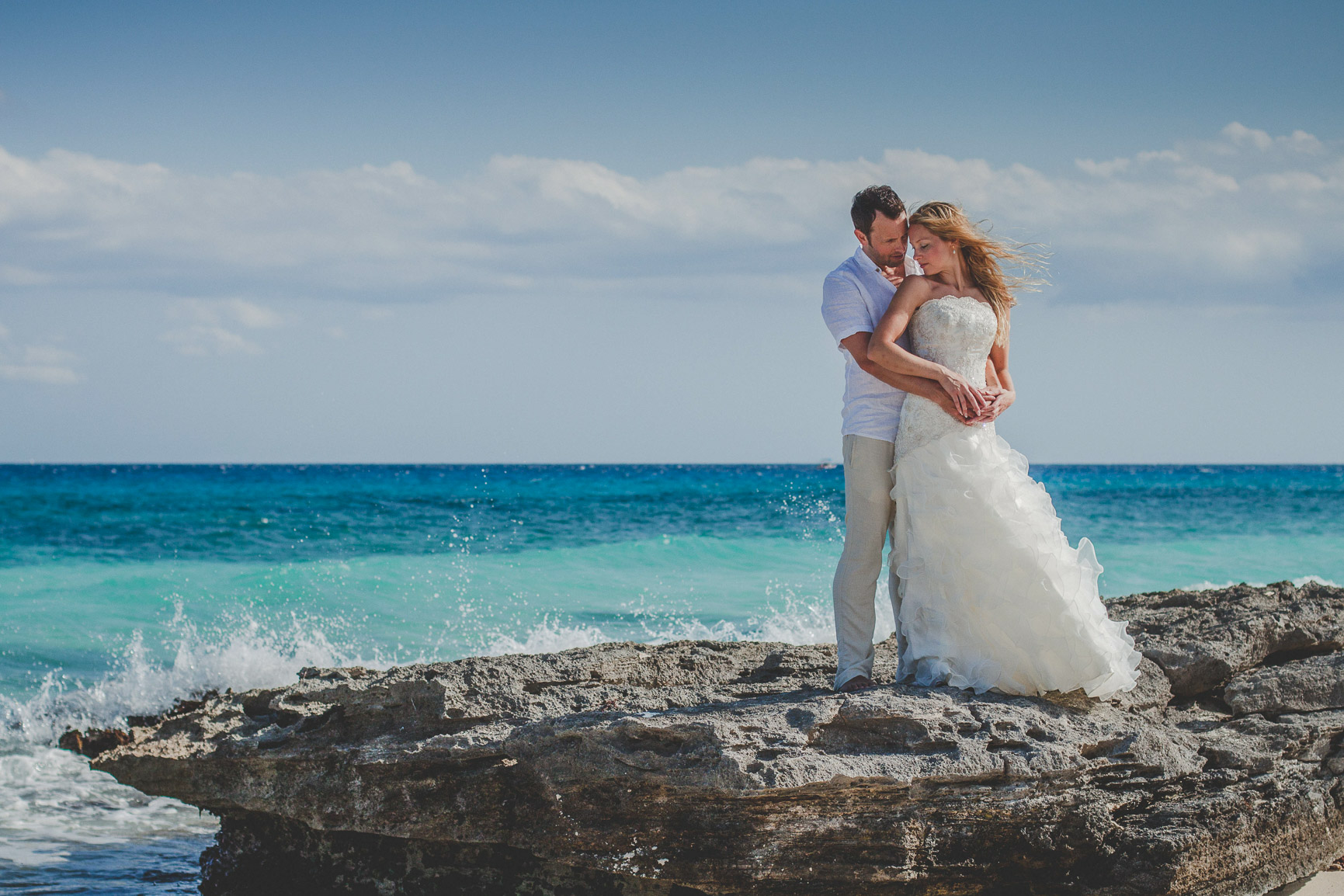 Secluded beach trash the dress Iheart Studio