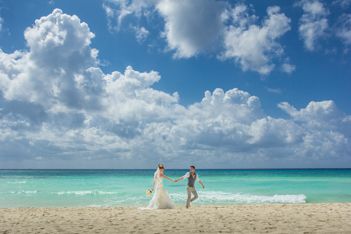 Mayan Riviera Beach Wedding