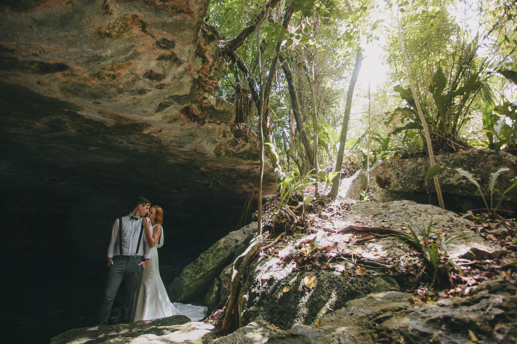 Mayan Riviera Cenote photo session