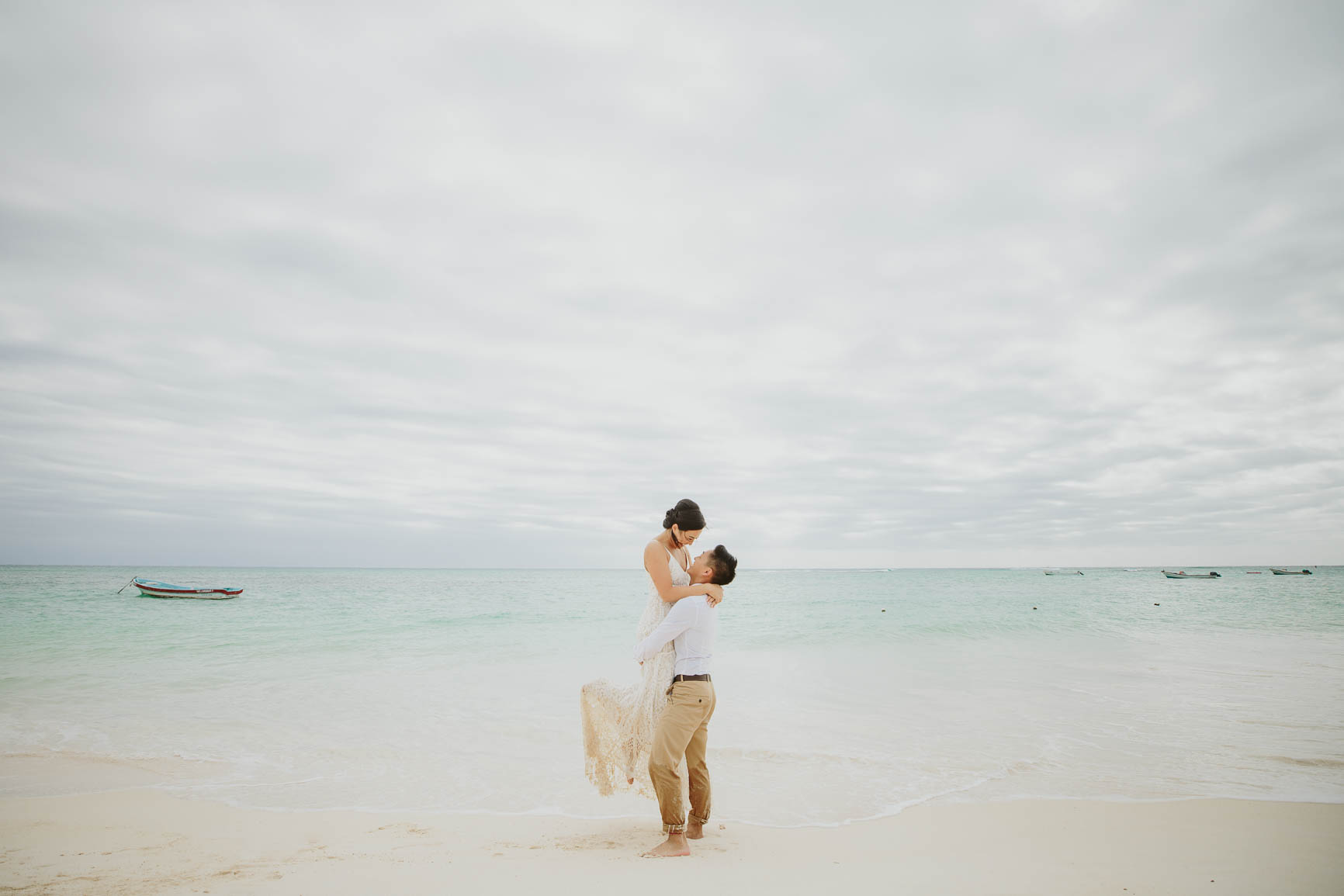 Riviera Maya Trash The Dress
