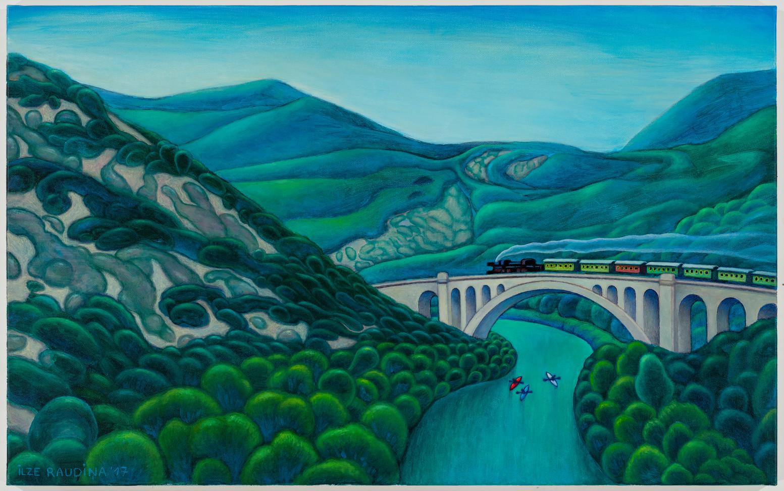 Solkan tilts. Slovēnija. Solkan bridge. Slovenia