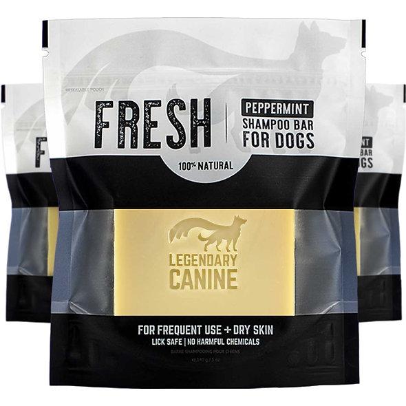 Legendary Canine Fresh Dog Shampoo Bar