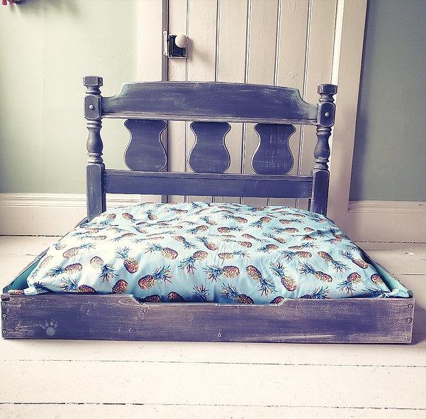 Custom Built Dog Bed W/ Headboard