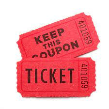 Raffle Tickets for Ursula Fundraiser