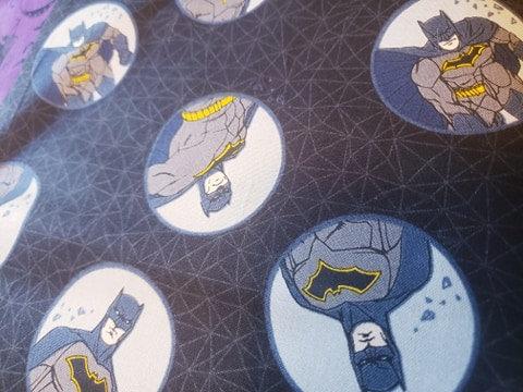 Flat Dog Collar Plastic Buckle Batman