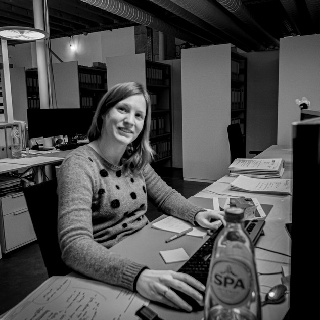 Valerie Lafaut  architect works at 3ARCHITECTEN  Roeselare