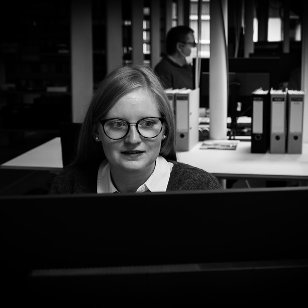 Florence HORRIE  architect works at 3ARCHITECTEN Roeselare