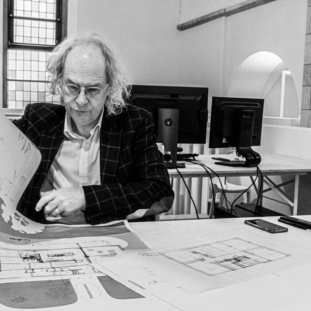 Jan TYVAERT  co-founder and partner 3ARCHITECTEN  Roeselare
